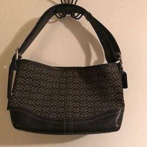 Coach purse small C logo brand